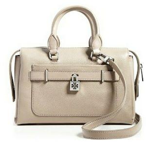 Tory Burch Bloomingdales exclusive padlock satchel